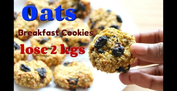 Oat Cookies Lose 2 kgs In 1 Week Oats Recipes For Weight Loss Banana Oatmeal Breakfast Cookies