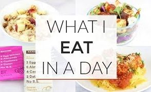 What I Eat In A Day Working From Home