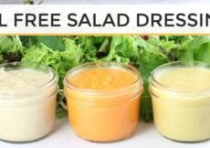 3 DIY Oil Free Salad Dressing Recipes Easy Healthy
