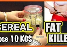 Healthy Breakfast Ideas For Weight Loss Lose 10 kgs Fast with Homemade Cereal Fat Killer