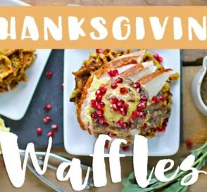 Thanksgiving Stuffing Waffles Healthy Thanksgiving Recipes