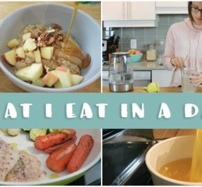 What I Eat In a Day Winter Edition EASY Healthy Meals