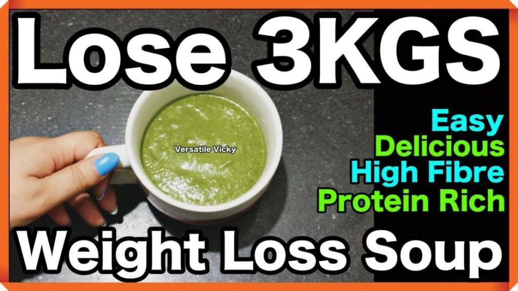 Winter Diet Meal Plan For Weight Loss Lose Weight Fast 2 3KG in a Week Weight Loss Soup 1