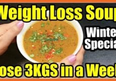 Winter Diet Meal Plan For Weight Loss Lose Weight Fast 2 3KG in a Week Weight Loss Soup