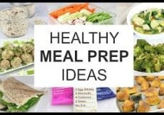 Healthy Holiday Meal Prep Ideas A Weeks Worth of Clean Eats