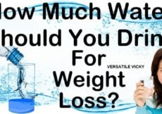 How to Lose Weight Fast 10 Kgs in 1 Month with Water How Much Water Should I Drink To Lose Weight