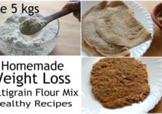 Multigrain AttaFlour Mix For Weight Loss Homemade Multigrain Mix How To Lose Weight Fast 5 Kgs