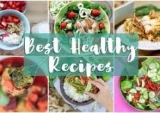 BEST OF 2017 Healthy Recipes Meal Prep What I Eat in a Day