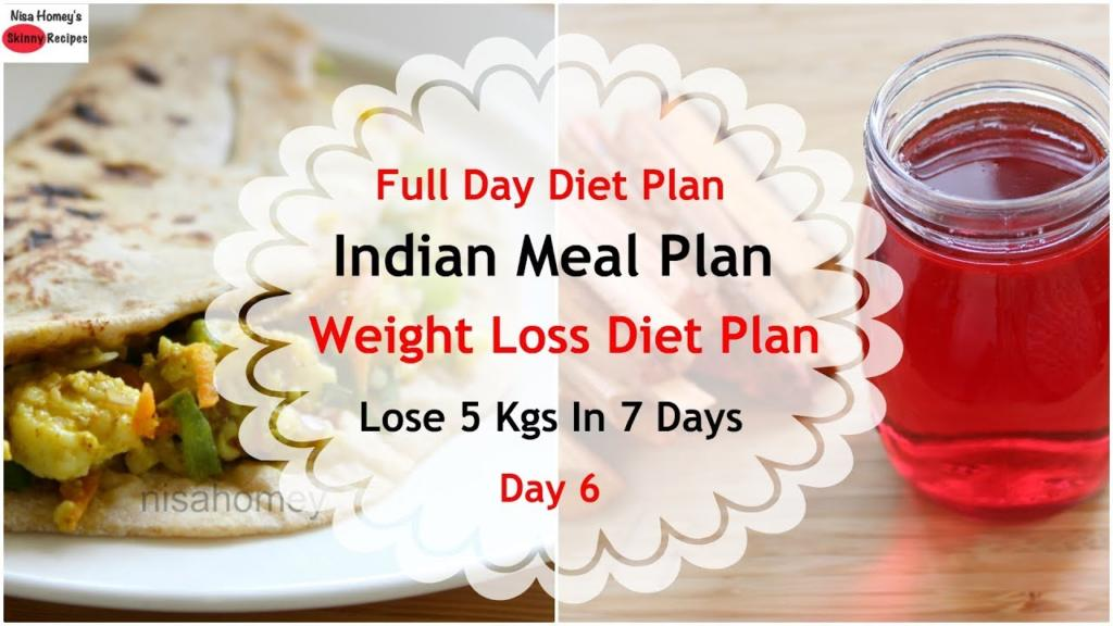 Full Day Indian Meal PlanDiet Plan For Weight Loss How To Lose Weight Fast 5 Kgs in 7 Days Day 6