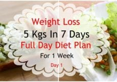 How To Lose Weight Fast 5kgs In 7 Days Full Day Diet Plan For Weight Loss Lose Weight Fast 1