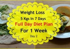 How To Lose Weight Fast 5kgs In 7 Days Full Day Diet Plan For Weight Loss Lose Weight Fast Day 2