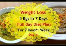 How To Lose Weight Fast 5kgs In 7 Days Full Day Diet Plan For Weight Loss Lose Weight Fast Day 4