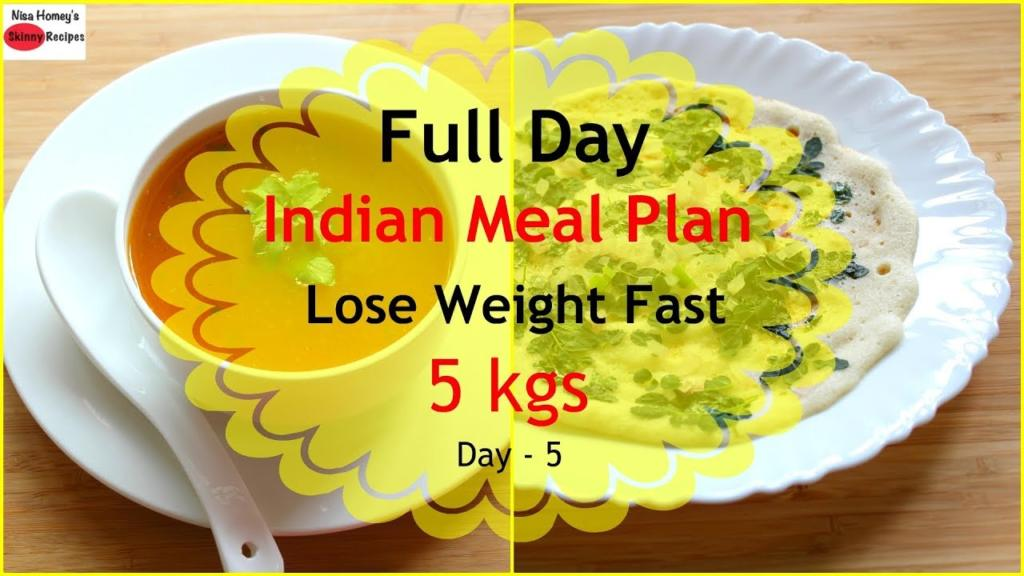 How To Lose Weight Fast 5kgs In 7 Days Full Day Indian Diet PlanMeal Plan For Weight Loss Day 5