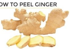 How To Peel Ginger 2 Easy Ways