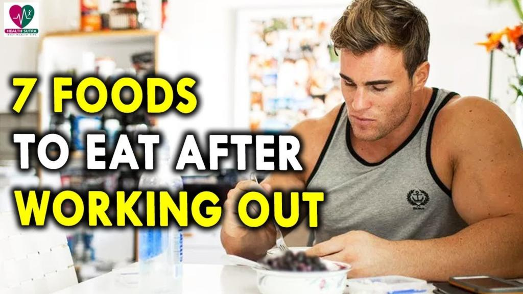7 Foods To Eat After Working Out Mens Health Tips Best Health Tips For Mens