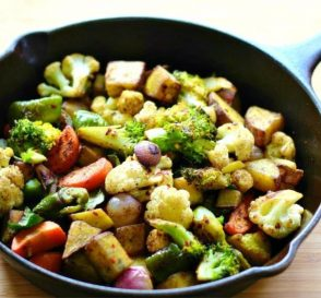 Roasted Vegetable Recipe How To Roast Vegetables In A Cast Iron Pan Healthy Weight Loss Recipes