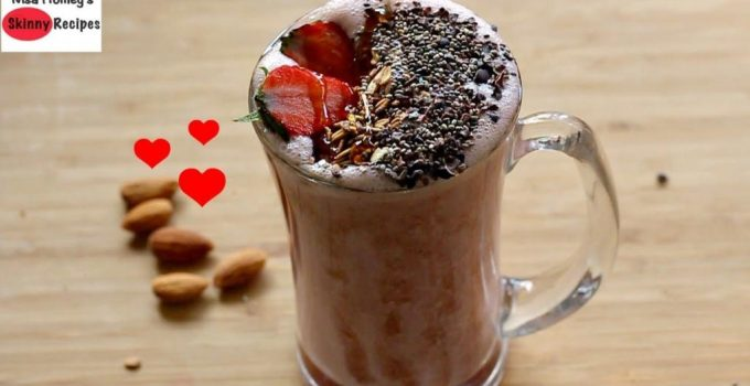 Strawberry Oatmeal Breakfast Smoothie Recipe Oats Recipes For Weight Loss