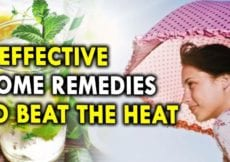 4 Effective Home Remedies to Beat the Heat Summer Health Tips