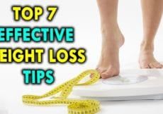Top 7 Effective Weight Loss Tips