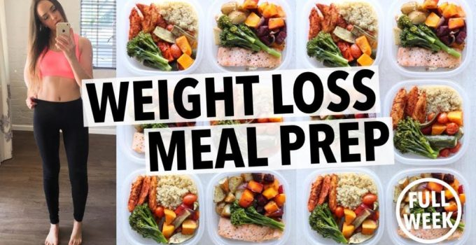 WEIGHT LOSS MEAL PREP FOR WOMEN 1 WEEK IN 1 HOUR