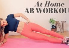 AT HOME INTENSE 10 MIN AB WORKOUT NO EQUIPMENT ALL ABILITIES