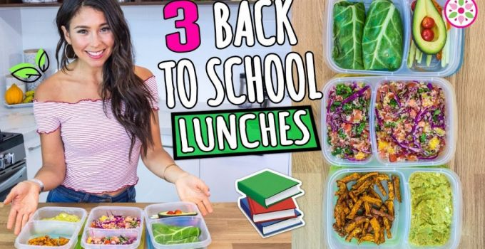 3 BACK TO SCHOOL VEGAN LUNCHES Rawvana