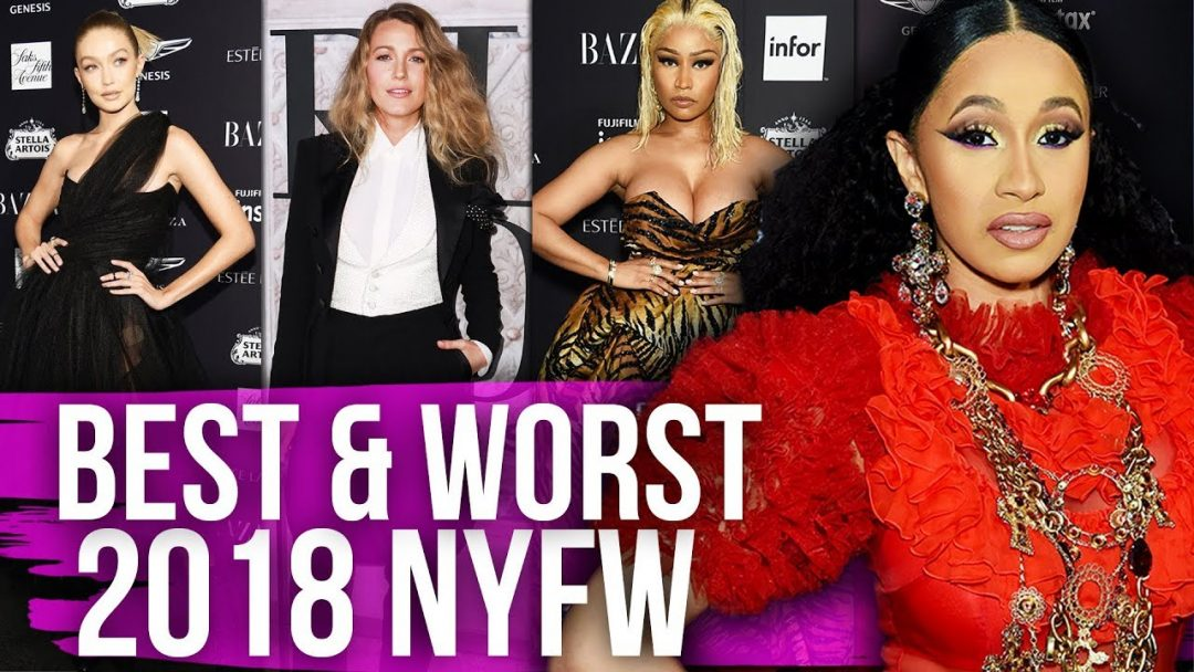 Best Worst Dressed New York Fashion Week 2018 Dirty Laundry