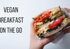 On the Go Vegan Breakfast Ideas