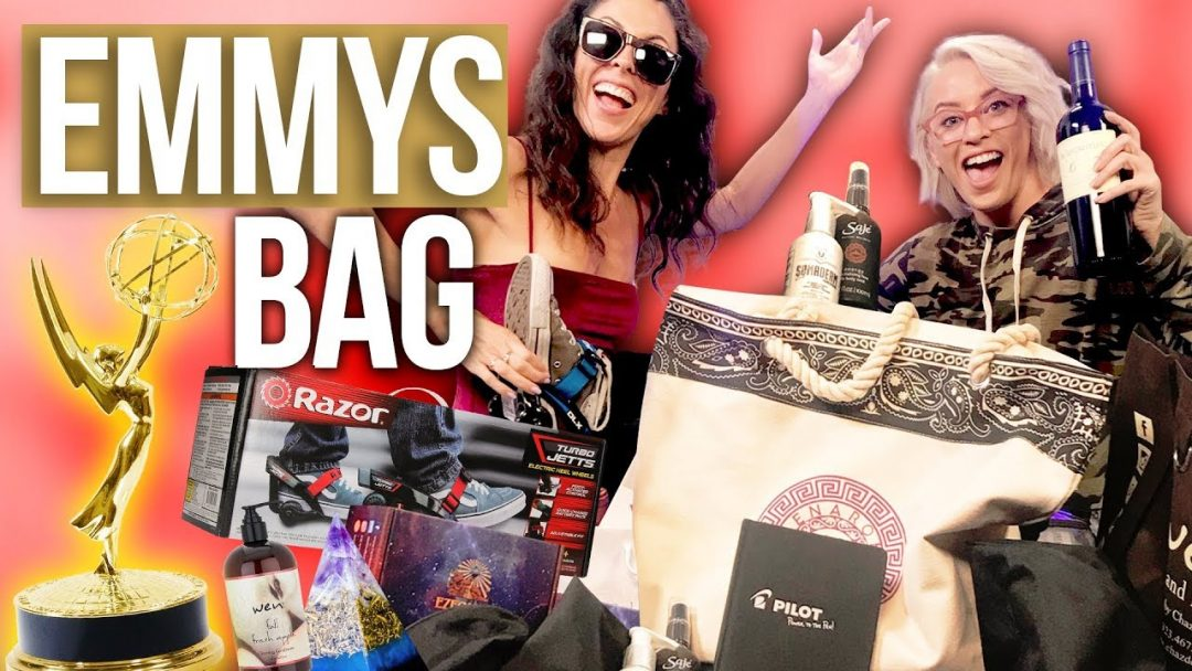 Opening the 60000 EMMYS Gift Bag Beauty Break