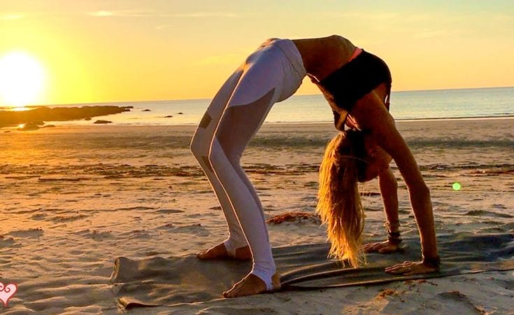 Yoga Workout For Your Waistline Beautiful Sunset Core Toning Tip Of Borneo