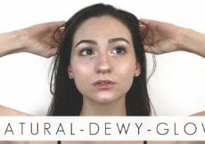 my 10 minute mega glowy 8220 no makeup 8221 makeup look natural makeup tutorial beautychickee q3B NpZxbxY