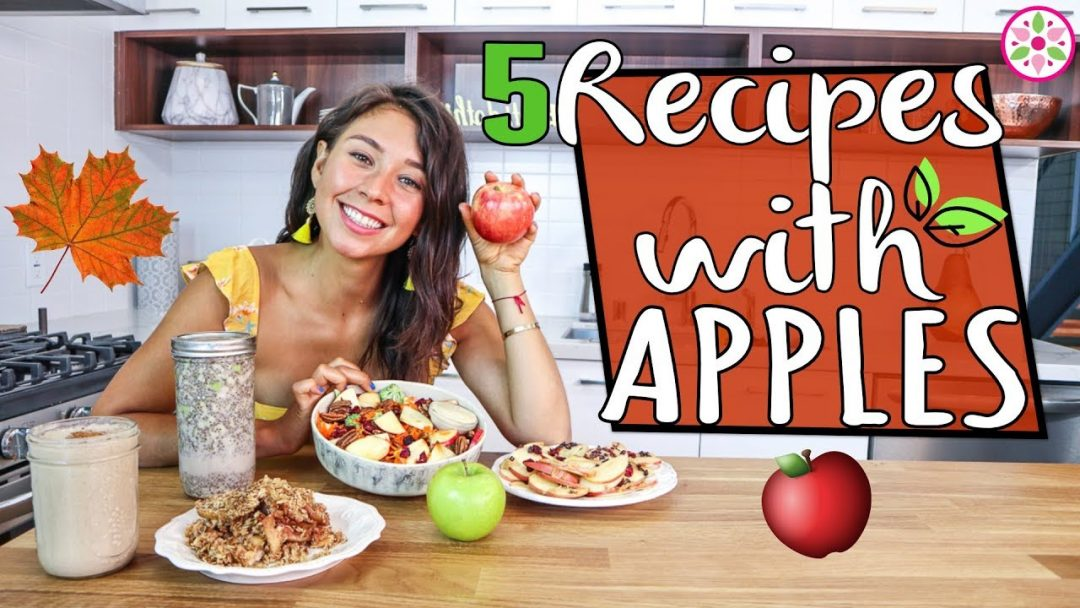 5 VEGAN RECIPES WITH APPLE FOR FALL Rawvana
