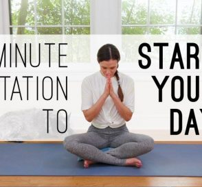 7 Min Meditation to Start Your Day Yoga With Adriene