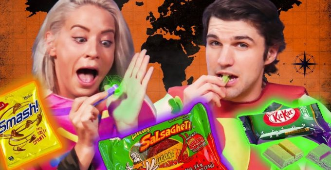 Halloween Candy From Around the World Cheat Day