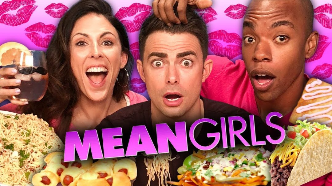 MEAN GIRLS Themed Food w Jonathan Bennett Cheat Day