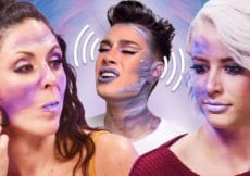 We Tried Following ONLY the VOICEOVER of a James Charles Makeup Tutorial Beauty Break