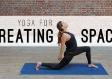 Yoga For Creating Space Yoga With Adriene