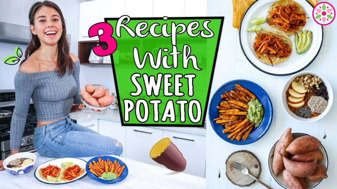 RECIPES WITH SWEET POTATO Vegan and Easy Rawvana