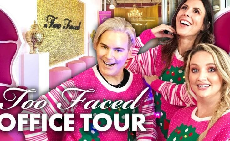 We Got Makeovers at the TOO FACED Headquarters Beauty Trippin