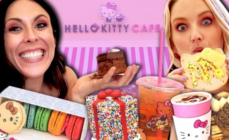 We Visited the Hello Kitty Caf