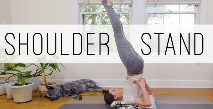 Foundations Of Shoulder Stand Candle Pose Yoga With Adriene