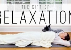 Gift of Relaxation 33 Min Feel Good Yoga Yoga With Adriene