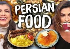 Trying PERSIAN Foods for the First Time Cheat Day