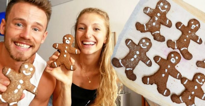 VEGAN GINGERBREAD COOKIES Cook With Me