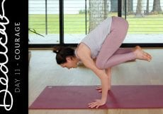 Dedicate Day 11 Courage Yoga With Adriene