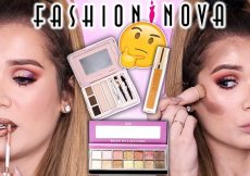 FULL FACE Testing FASHION NOVA Makeup... Worth the Hype