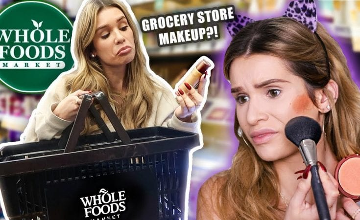 FULL FACE testing WHOLE FOODS MAKEUP ...is it any good