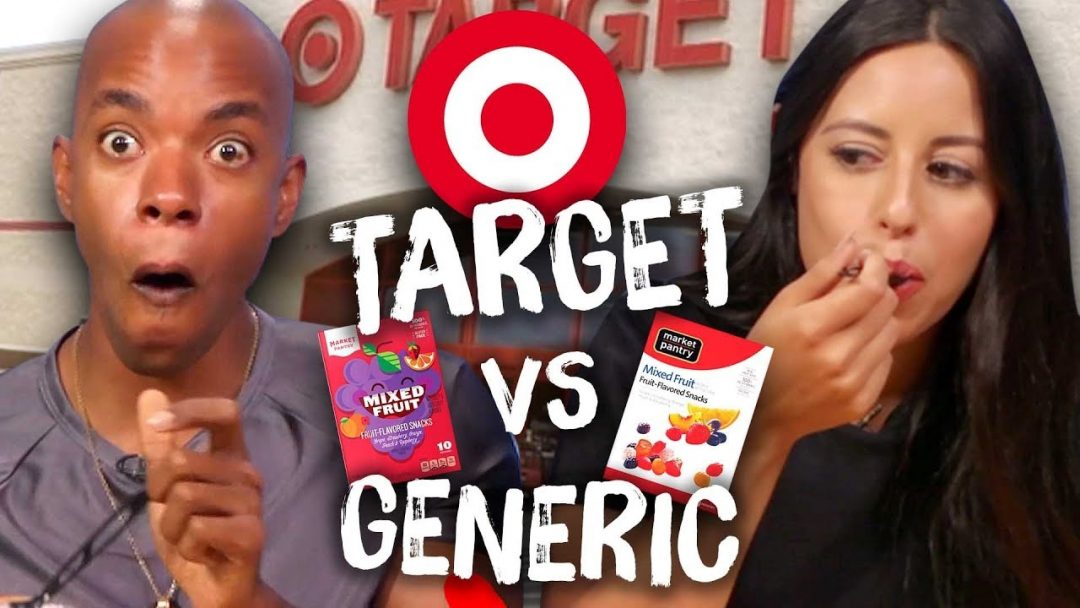Target Brand vs Generic Food Taste Test Cheat Day