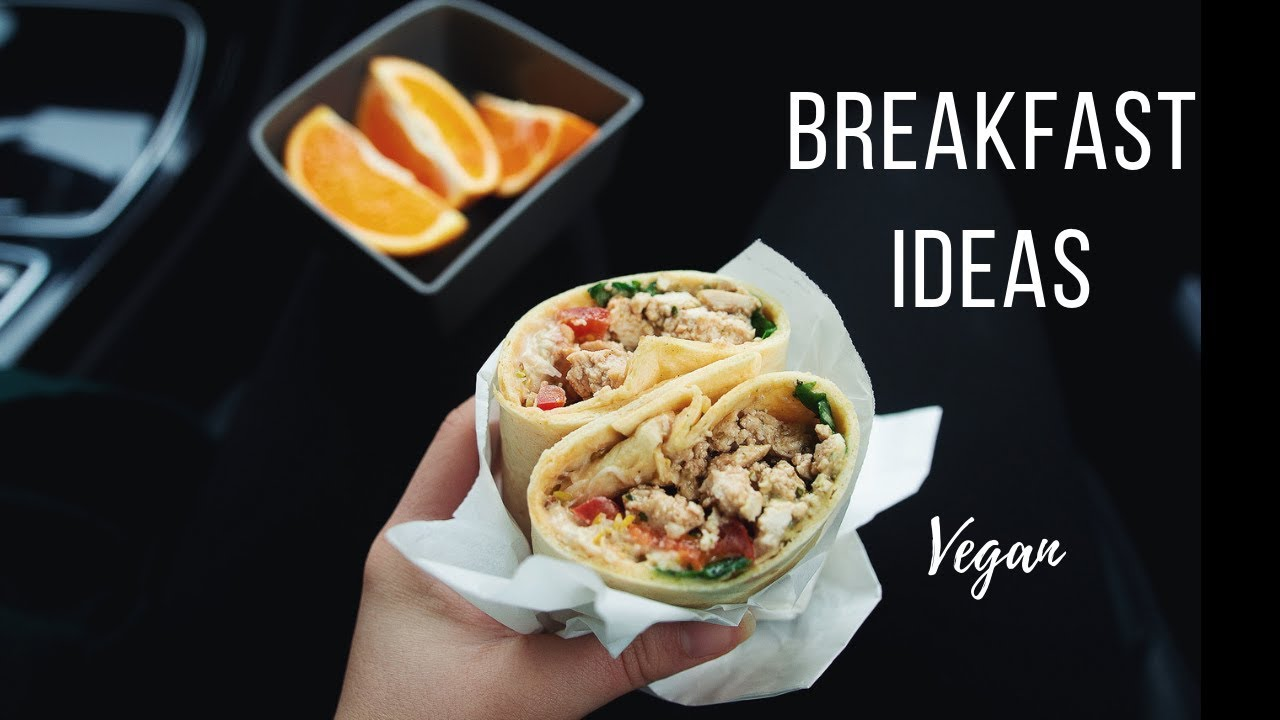 Vegan Breakfast Ideas for Busy Mornings