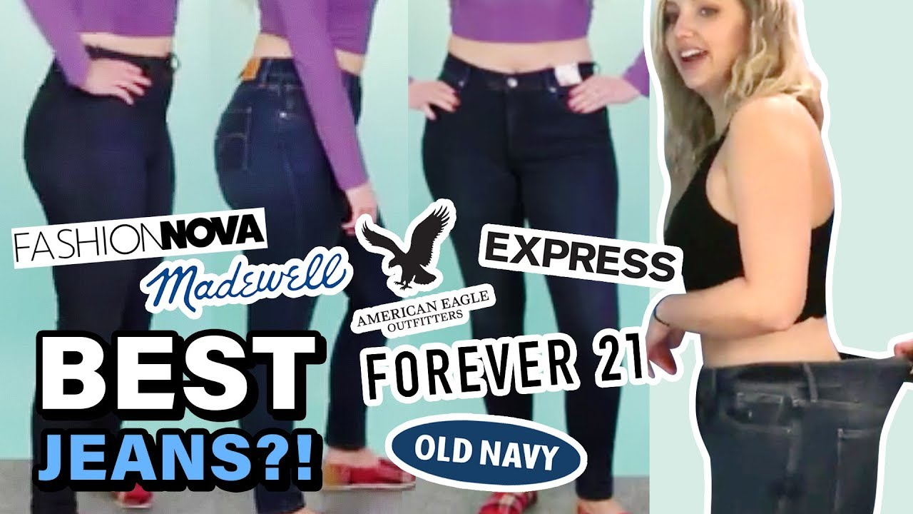 Trying Size 10 at Every Store Finding the BEST JEANS for Curvy Women
